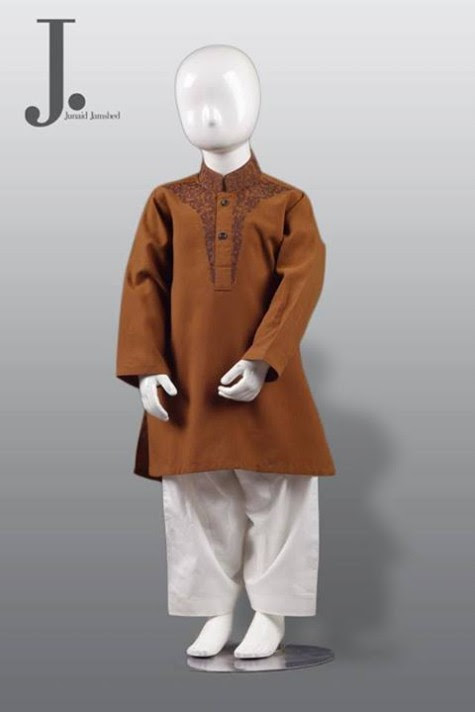 Kids-Child-Wear-Kurta-Shalwar-Kameez-New-Fashionable-Clothes-Collection-2013-by-Junaid-Jamshed-4