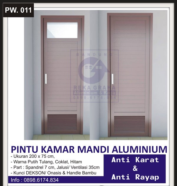 31 Trend Terbaru Pintu Aluminium Wc