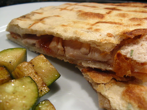 Grilled Flatbread Sandwich