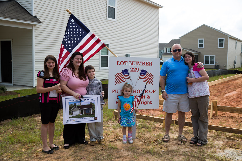 PulteGroup and Operation FINALLY Home surprise family on Patriot Day in North Charleston