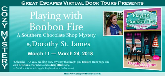 PLAYING WITH BONBON FIRE BOOK TOUR