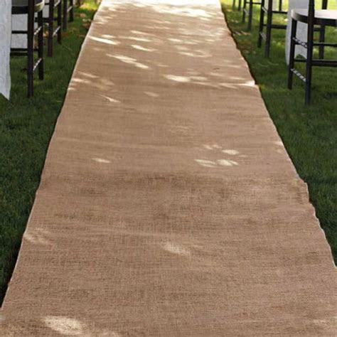 Burlap Wedding Aisle Runner 36 inch x 100 feet Rustic