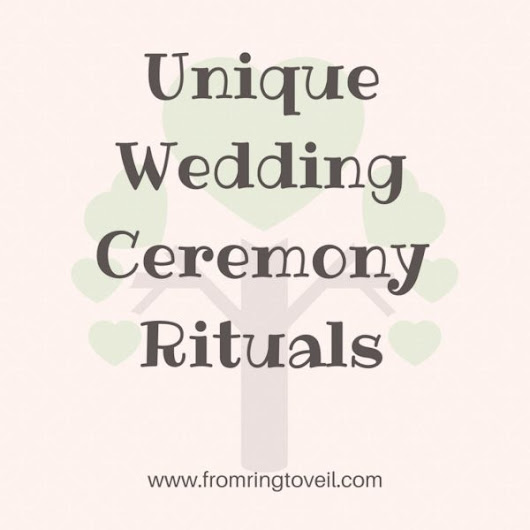 121 - Unique Wedding Ceremony Rituals | From Ring to Veil Wedding Planning Podcast