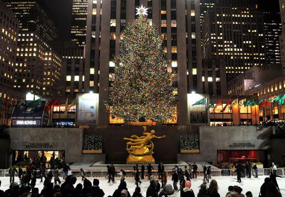 Gallery Christmas lights: New York