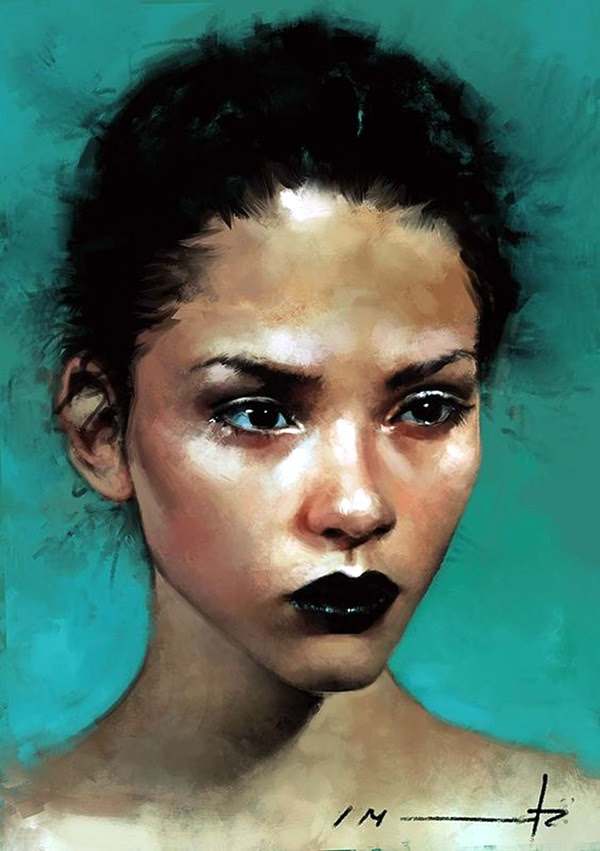 Spectacular Digital Painting Portraits (31)