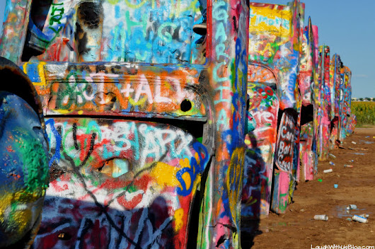 Cadillac Ranch Roadside Attraction in Amarillo, TX - Laugh With Us Blog