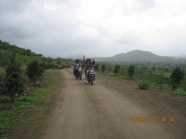 Cut, Demolished & Destroyed Hill of XRBIA Hinjewadi Pune - Nere Dattawadi, on Marunji Road, approx 7 kms from KPIT Cummins at Hinjewadi IT Park - 69