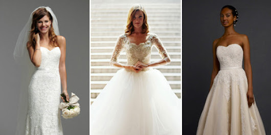 25 Wedding Dresses That Were Pinned (And Re-Pinned, And Re-Pinned) In 2014