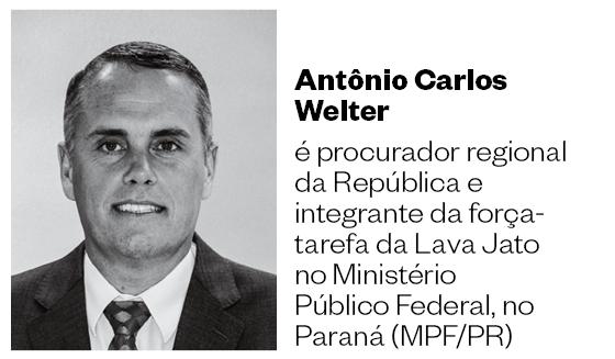 Antônio Carlos Welter é procurador regional da República e integrante da força-tarefa da Lava Jato  no Ministério Público Federal, no Paraná (MPF/PR) (Foto: Época )