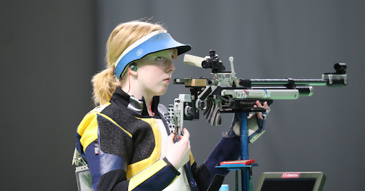 Shooting gold medalist Ginny Thrasher laments controversy over gun laws