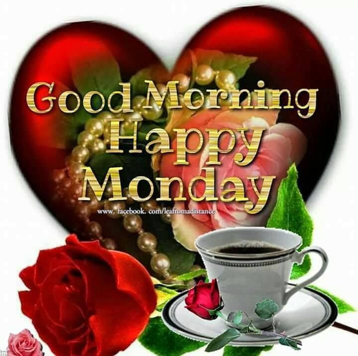 Good Morning Happy Monday Coffee And Tea Graphic Pictures ...