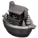 John Wright 31557 Log Cabin Steamer