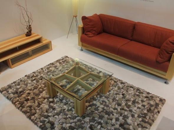 Mude a cara da sua casa com tapetes fáceis de fazer