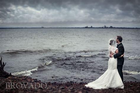 Lake Superior wedding photo   Minnesota Photography