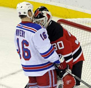 Sean Avery and Martin Broduer