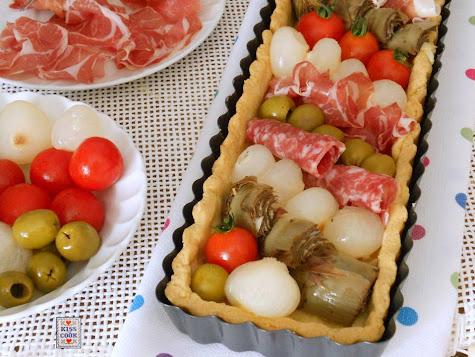 Torta antipasto italiano di Kissthecook