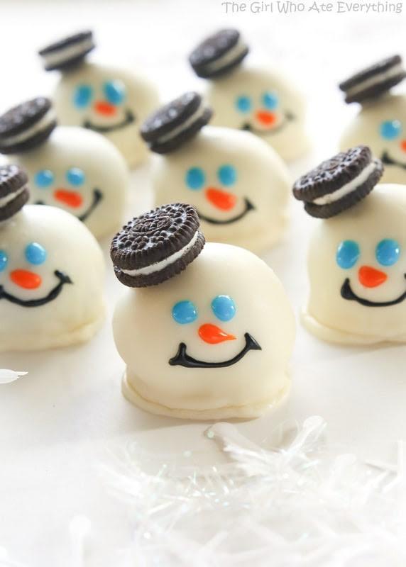 30 Cute Mini Christmas Dessert Recipes Christmas Celebration All About Christmas