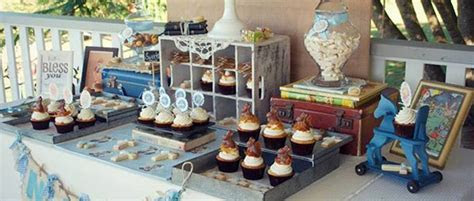Kara's Party Ideas Vintage Christening   Baby Blessing Party