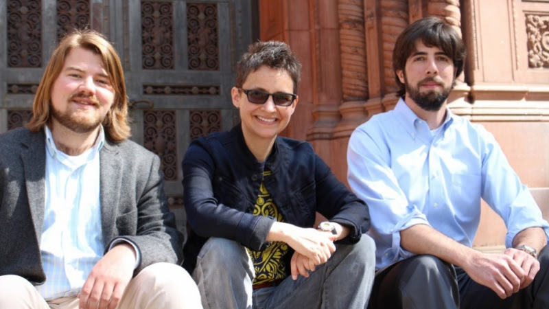 From left: Shane Hall, Stephanie LeMenager and Stephen Siperstein