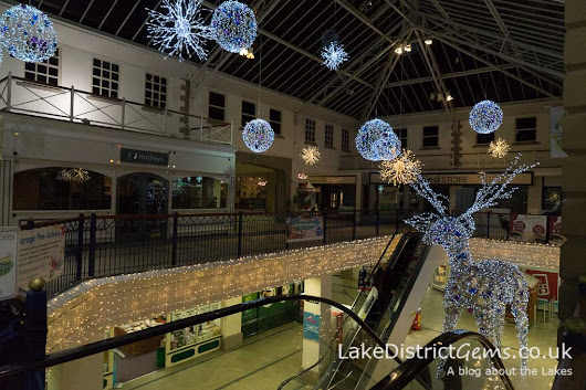 Kendal's sparkling Christmas Lights - Lake District Gems blog