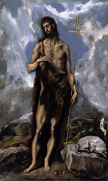 File:El Greco - St. John the Baptist - WGA10548.jpg