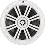 "KICKER - 6-1/2"" 2-Way Marine Speakers with Polypropylene Cones (Pair) - White"
