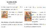 Les alphas - Gâteau surprise : lecture suivie CP période 4