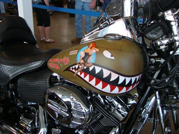 O\u002639;s Custom Paints \/ Custom Painting  Harleys, Choppers, Motorcycles \/ Naughty \u0026 NiceTribute to