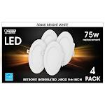"Feit Electric 5-6"" Integrated J-Box Retrofit Kit 4 Pack"