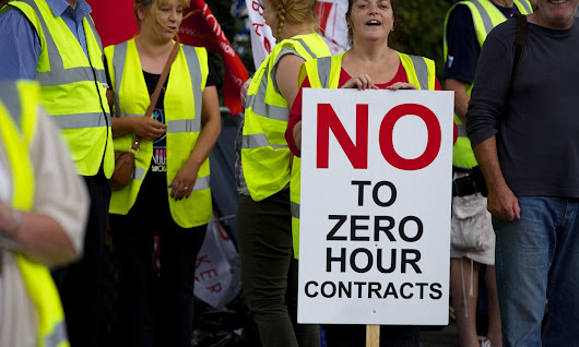 UK workers on zero-hours contracts rise above 800,000 | UK news | The Guardian