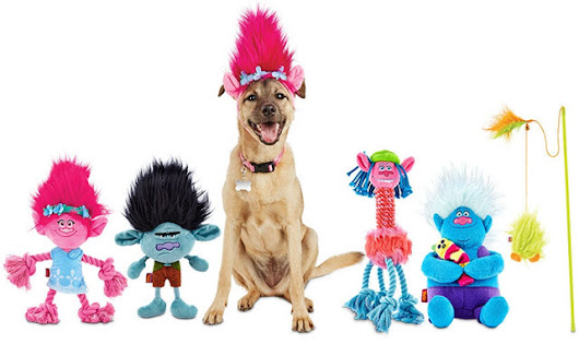 Petco Unveils Troll Dolls Line of Pet Toys