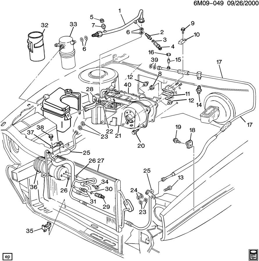 1995 Cadillac Deville Fuse Box Diagram