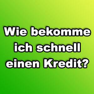 Wie bekomme ich schnell einen Kredit?  FinanzCode.deFinanzCode.de