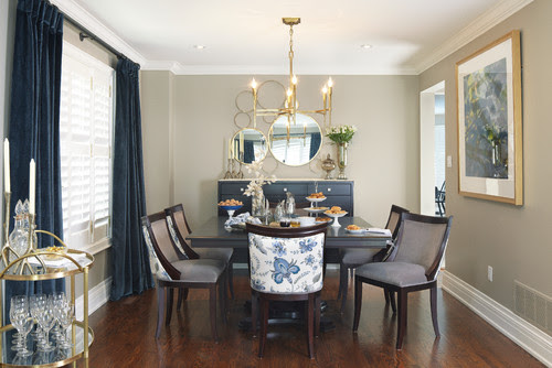Contemporary Dining Room By Toronto Interior Designers Decorators Sealy Design Inc