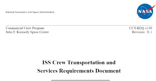 PDF. ISS Crew Transportation and Services Requirements Document