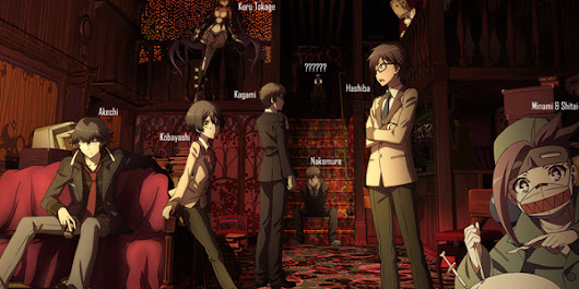 Summer Anime Season 2015 Preview: Rampo Kitan Game of Laplace - The Shinigami List