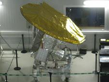 NASA's Aquarius instrument at INVAP's satellite integration facility in Bariloche, Argentina