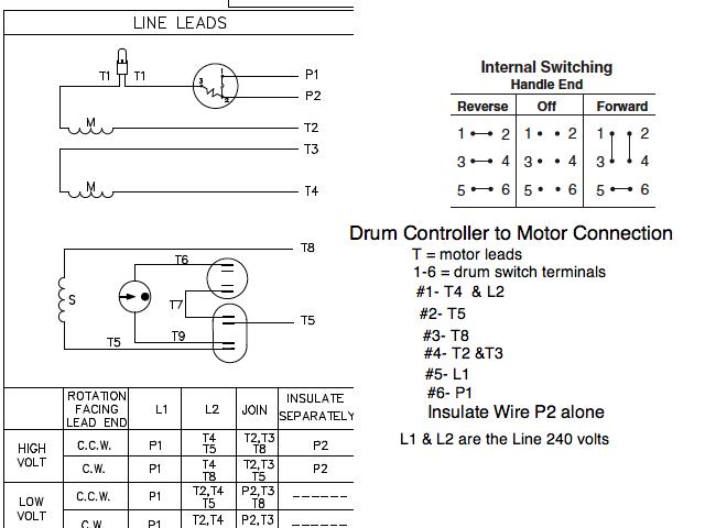 120vac motor wiring diagram schematic image 6