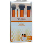 Real Techniques Flawless Base Brush Set, 4 Ct