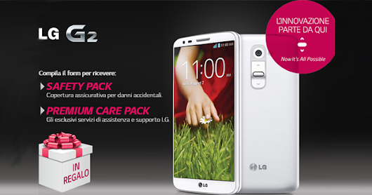 LG regala Safety Pack a tutti i possessori di LG G2 - QwertyNet.it