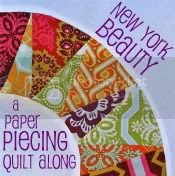 Paper Piecing Tutorial: New York Beauty Block - In Color Order