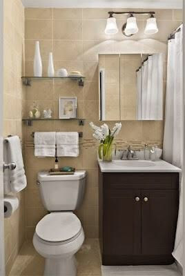 Baño pequeño. Me encantóoo!!!! perfecto para el duplex