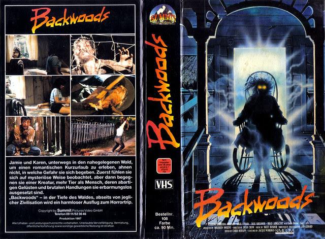Backwoods (VHS Box Art)