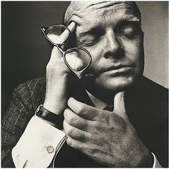 Truman Capote by Irving Penn.