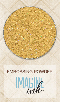 Imagine Ink - Embossing Powder - 14 Karat