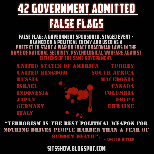 """FALSE FLAGS"" are LEGAL PROPAGANDA PRODUCED by the Department of Defense"