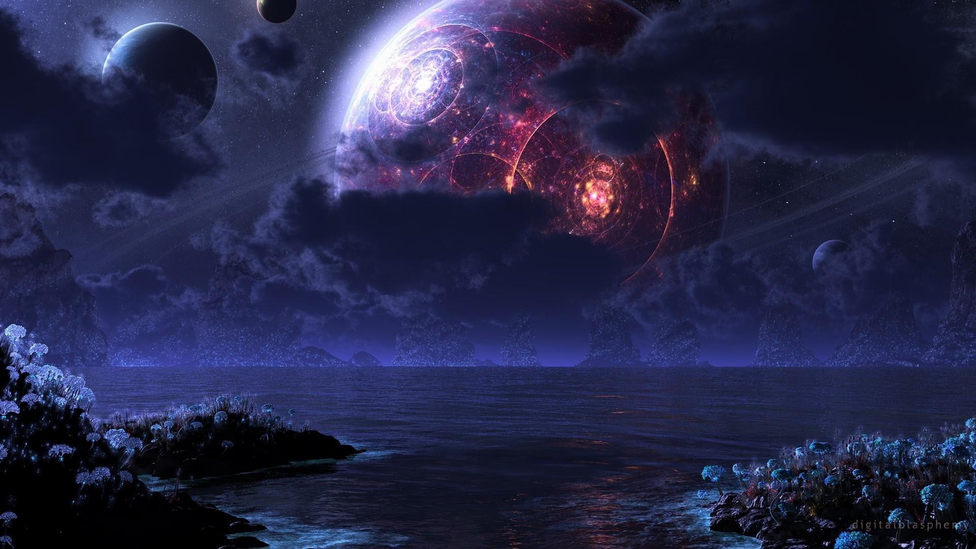 Alien Landscape Wallpaper 68 Images