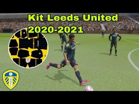 Kit Leeds United 2020-2021 - Dream league soccer 2020