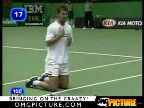 Απίστευτο ατύχημα σε αγώνα τέννις