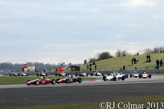 HSCC Historic Formula Ford Race, Thruxton Easter Revival